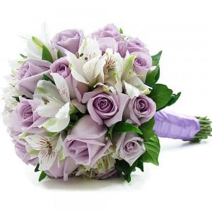 Buquê de Rosas Lilás