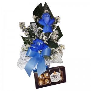 Rosa Blue Ferrero Rocher