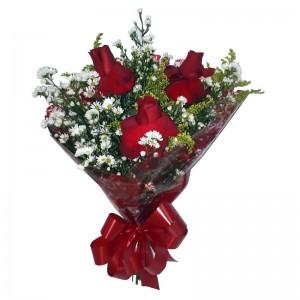 Trio de rosas