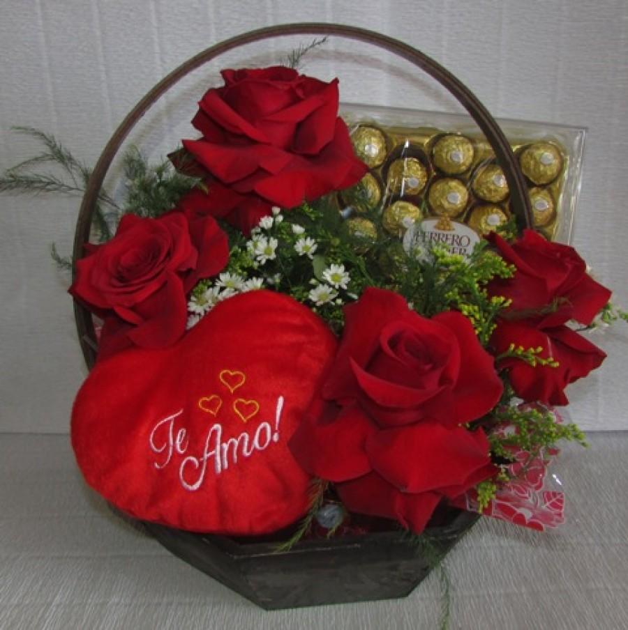 rosas ferrero coracao